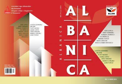 """""""Albanica"""" a ajuns la cel de-al treilea număr"""