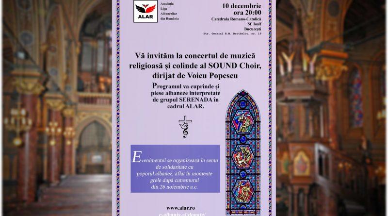 Concert sub semnul solidarității româno-albaneze