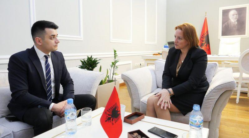 Vizită de lucru la nivel înalt a deputatului Bogdan-Alin Stoica, la Tirana