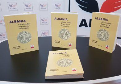 """Volumul """"Albania: o istorie în date. Despre Kanun. Personalități"""" a apărut la Editura Asdreni"""