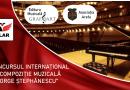 """ALAR lansează concursul internațional de compoziție muzicală """"George Ștephănescu"""""""