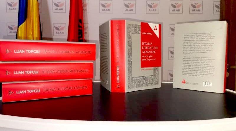 """A văzut lumina tiparului """"Istoria literaturii albaneze: de la origini până în prezent"""""""